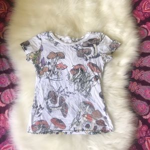 Urban Outfitters mushroom tshirt